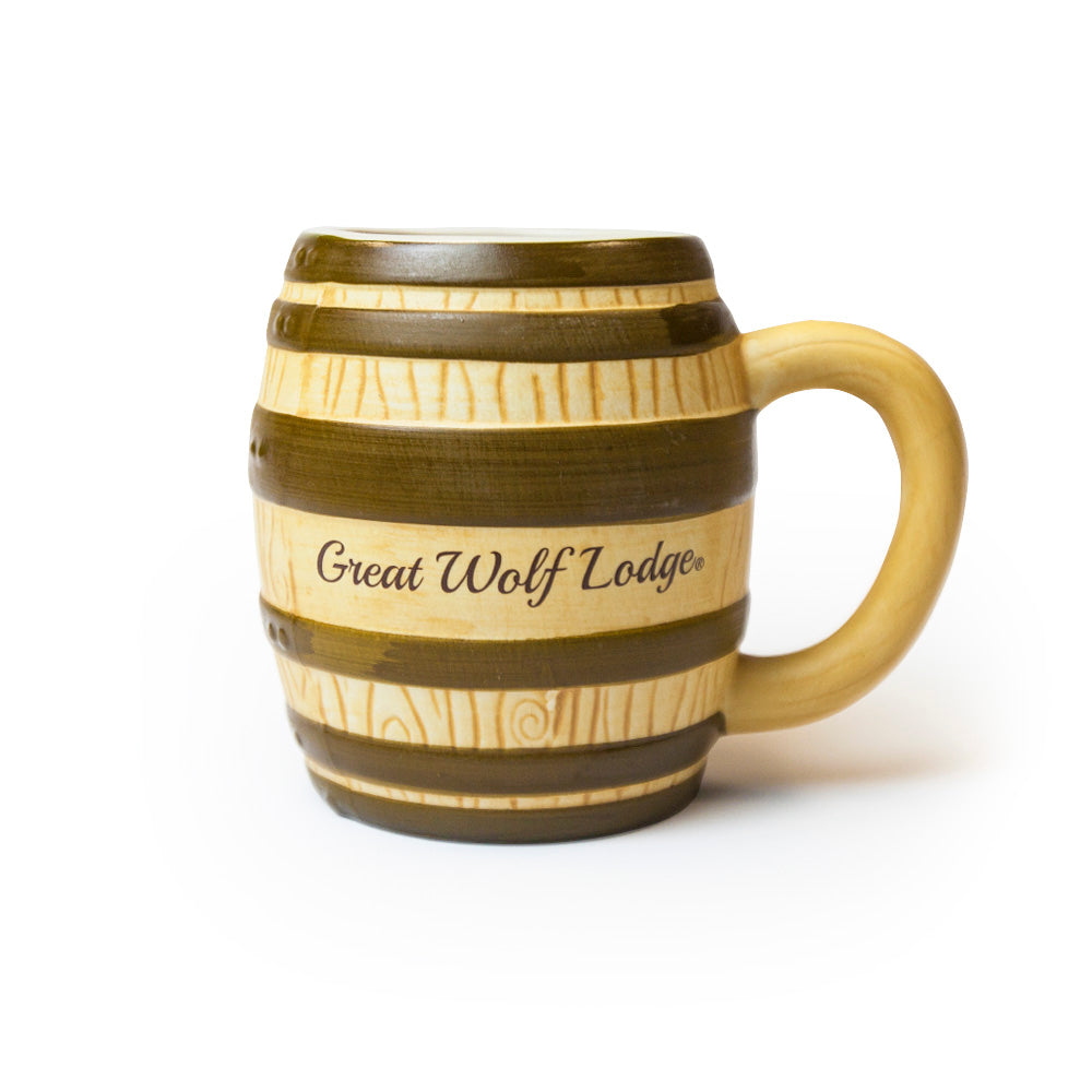 Great Wolf Lodge Barrel Mug