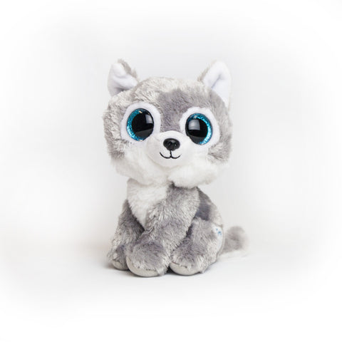 Small Warrior Wolf Beanie Boo