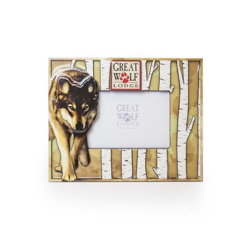 Birch Wolf Frame - Great Wolf Lodge Online Store - Buy Apparel ...
