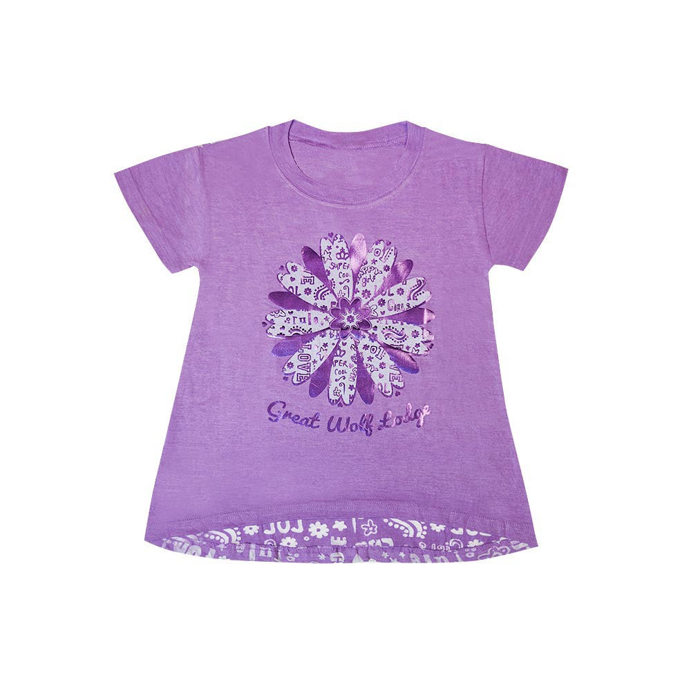 Flower Burnout Tee