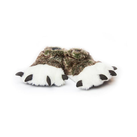 Wolf Paw Slippers