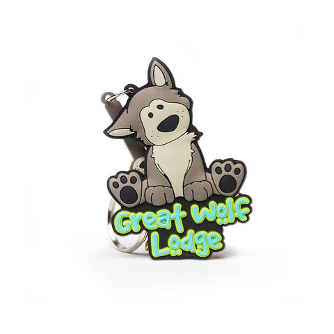 Wolfie Key Chain