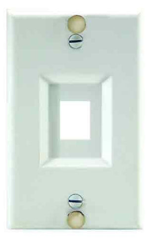 On-Q Wp3467Ss Keystone Wall Phone Plate, Stainless Steel