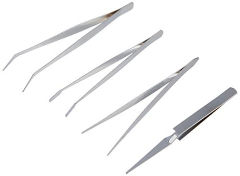 Kole Imports Ms039 Industrial Tweezers Set