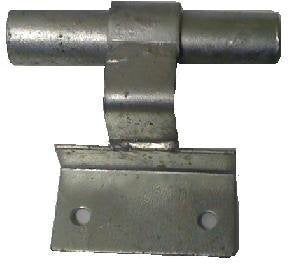 Wall Mount Rolling Gate Track Bracket - Chain Link Gate Parts