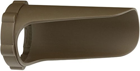 Kichler Lighting  15703Aztp 3-Inch Dia. Polycarbonate Long Cowl, Textured Architectural Bronze