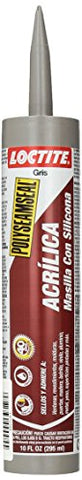Loctite 1507597 828250 Acrylic Caulk, Grey