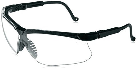 Howard Leight By Honeywell R 03570 Genesis Black Frame With Clear Lens Shooting Glasses