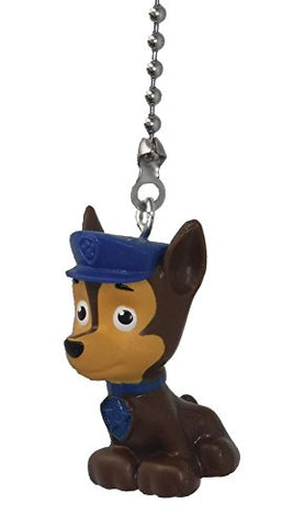 Paw Patrol Puppy Dog Ceiling Fan Pull (Chase - Brown Police Dog With Blue Hat)