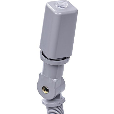 Intermatic Ek4736S Select Grade Fixed Mount Electronic Photocontrol With Stem, Swivel And Top Lens