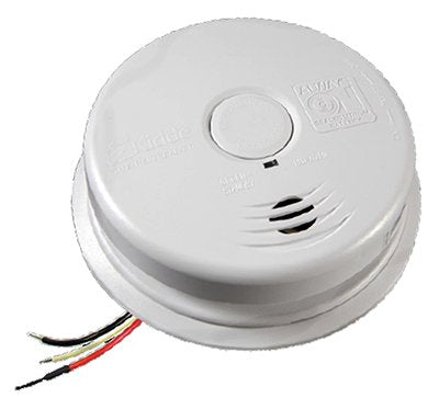Kidde Plc 21010408-N Combination Smoke And Carbon Monoxide Alarm, Ac/Dc Powered, 10-Year Worry Free - Quantity 6