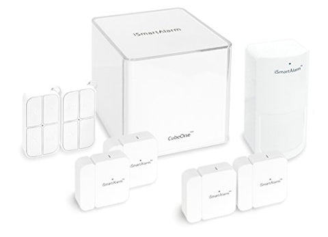 Ismartalarm Isa5 Deluxe Package, White