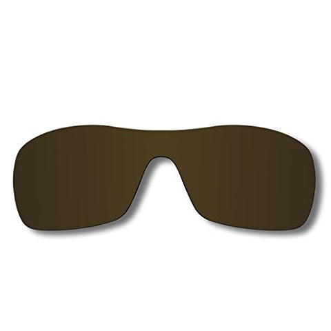 Replacement Sunglasses Lenses For Oakley Antix With Polarized (Bronze Brown)