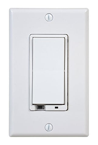 Linear Wd500Z-1 Z-Wave 500-Watt Wall-Mount Dimmer Switch