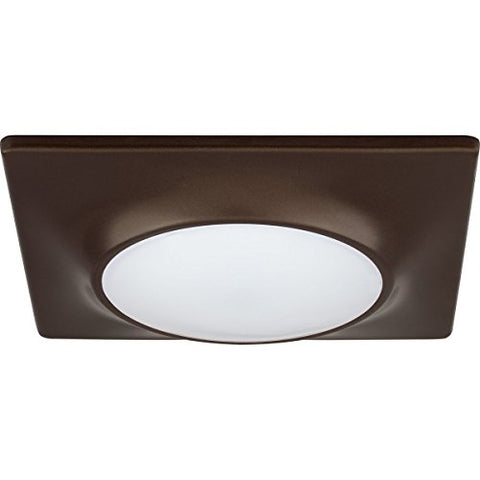 Progress Lighting P8027-20/30K9-Ac1-L10 Square Flush Mount/Recessed Led Fixture, 7 1/4