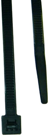 L.H. Dottie Dt14Hb Cable Tie, Heavy Duty, 15.09-Inch Length By 0.3-Inch Width By 0.076-Inch Thickness, Uv Black,