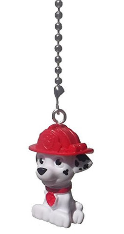 Paw Patrol Puppy Dog Ceiling Fan Pull (White Dalmation Marshall)