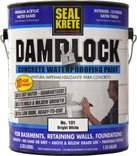 Seal Krete 101001 Damplock Concrete Waterproofing Paint 1 Gal, White