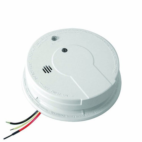 Kidde P12040 Hardwire With Battery Backup Photoelectric Sensor Smoke Alarm