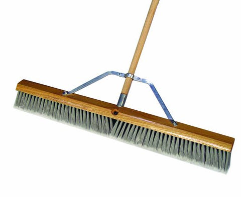Bon 84-811 30-Inch Silver Tip Flagged Broom With Handle