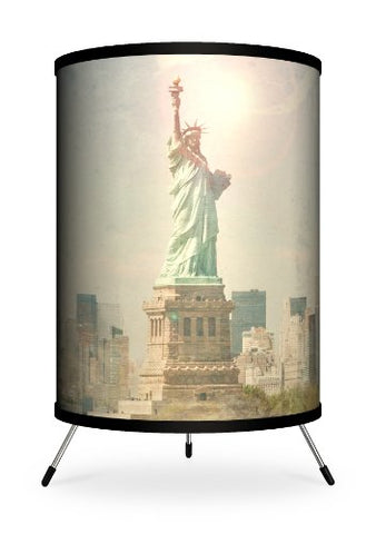 Lamp-In-A-Box Tri-Far-Mmsta Featured Artists - Michael Mandolfo Statue Of Liberty Tripod Lamp