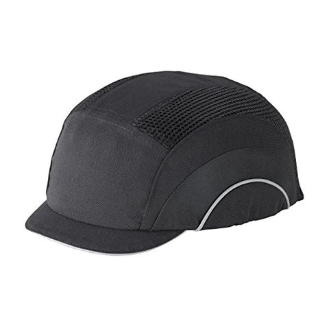Hardcap A1+ 282-Abm130-11 Micro Brim Baseball Style Bump Cap With Hdpe Protective Liner And Adjustable Back