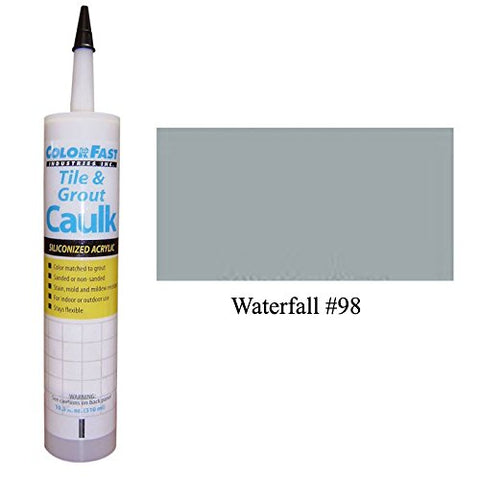 Mapei Color Matched Caulk By Color Fast (Sanded/Rough) (Waterfall)