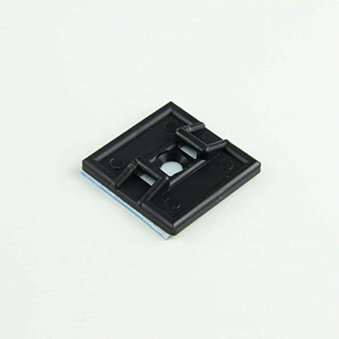 1 Uv Black Super-Stick Cable Tie Mounts -