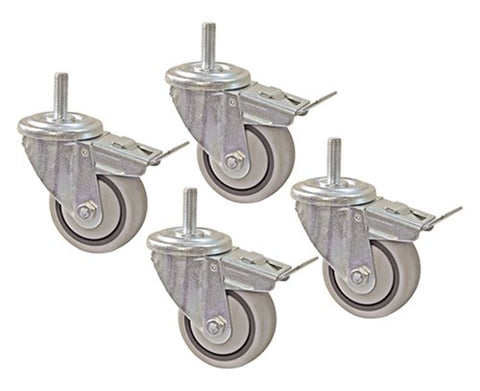 Kreg Prs3090 3 Dual Locking Caster-Set, 4 Piece