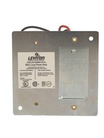 Leviton Cd100-D0 Dali Loop Power Pack, For Use With Dali Compatible Dimmer Input Voltage: 120/277 Vac +/-10% & Output Voltage: 12 & Output Current: 110Ma, White