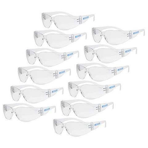 Jorestech Eyewear Protective Safety Glasses (Clear)