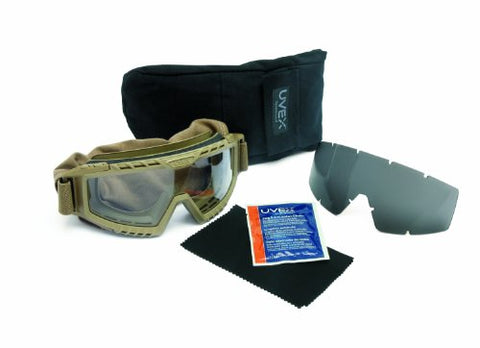 Uvex By Honeywell S0765D Xmf Tactical Goggle, Desert Tan