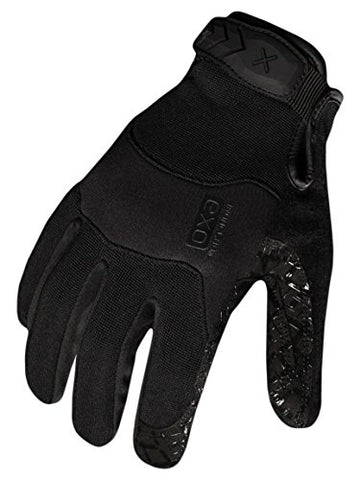 Ironclad Exot-Gblk-02-S Tactical Operator Grip Glove, Stealth Black, Small