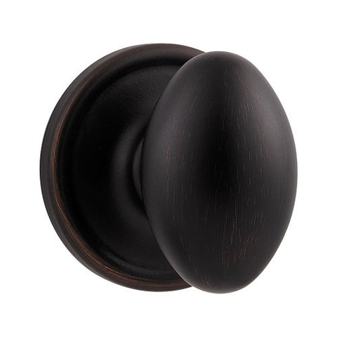 Kwikset Laurel Hall/Closet Knob In Venetian Bronze