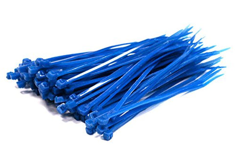 Integy Hobby Rc Model C23386Blue Plastic Tie Wrap / Cable Tie (100) Small Size