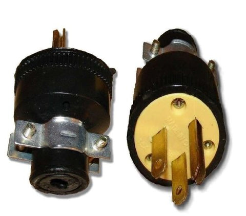 Wholesale Heavy Duty 3-Prong Male Electrical Plug Replacement 125V 15A