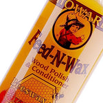 Howard Fw0016 Feed-N-Wax Wood Polish And Conditioner, 16-Ounce