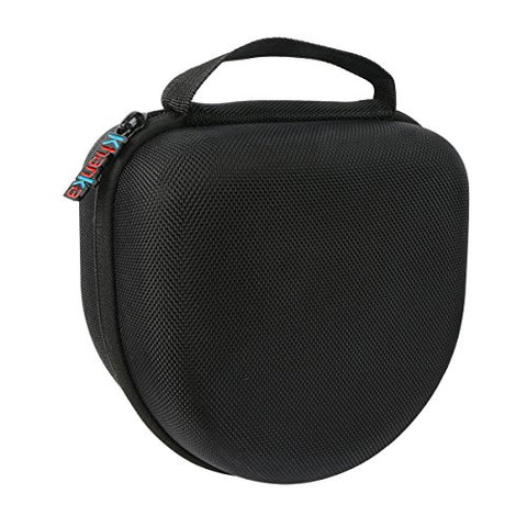 Khanka Eva Carrying Storage Travel Hard Case Bag For Cleararmor 141001 Safety Ear Muffs Earmuffs 34Db 37Db Nrr Shooters Hearing Protection Folding-Padded Ear Cups - Black
