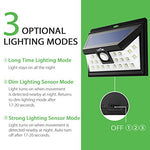 Litom Super Bright 24 Led Outdoor Motion Sensor Solar Lights Wide Angle With 3 Leds Both Side-