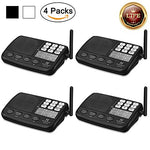 Hosmart 1500Ft Long Range 7-Channel Digital Fm Wireless Intercom System For Home Or Office (4 Stations)