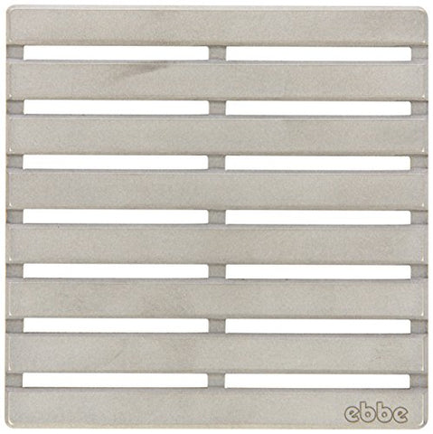 E4811-Sn Parallel Decorative Drain Grate, Satin Nickel
