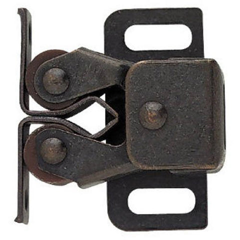 Liberty C08820L-Stb-U Double Roller Catch With Spear Strike,