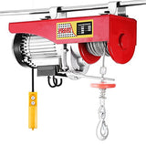 Happybuy Lift Electric Hoist 1320 Lbs Electric Hoist 110V Overhead Crane Lift Electric Wire Hoist Remote Control (1320Lbs)
