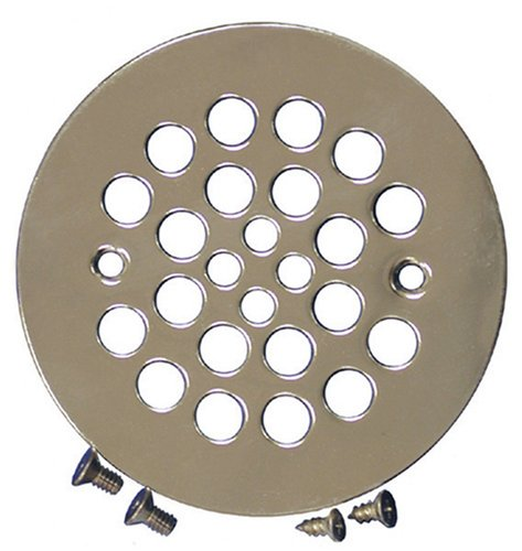 Plumbest D41-107 Shower Stall Drain, Satin Nickel
