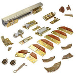 L.E Johnson 100Fd724 4-Panel Hardware Set 72 - 4 Door System