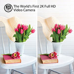Mysight2K By Iluv, Wi-Fi Cloud-Based 2K Hd Video Camera For Home And Business Monitoring
