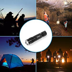 Led Flashlight,Hictech 1200 Lumens Brightest Cree Xm-L2 Led 5 Modes, Water Resistant Led Flashlight, Outdoor Torch With Rechargeable 18650 Lithium Ion Battery And Charger