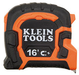 Klein Tools 86216 Double Hook Magnetic Tape Measure, 16-Foot