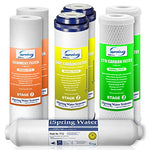 Ispring F7-Gac 1-Year Filter Replacement Supply Set For 5-Stage Reverse Osmosis Water Filtration Systems