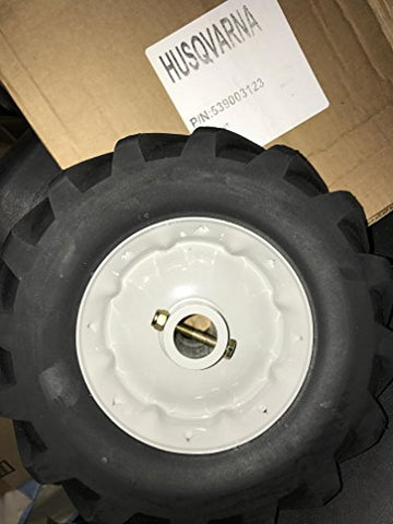 Husqvarna Replacement Wheel Kit W/ Hardware For Sod Cutter Axles 2.75 X 10 X 1, Husqvarna 539003123, 540030426 539030426